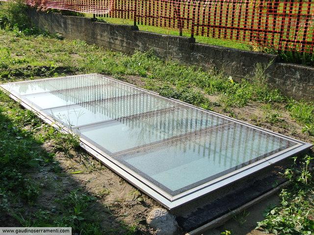 Floor trap lucernari calpestabili gaudino for Lucernari da tetto