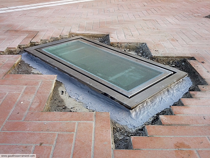 Floor Window Lucernari Calpestabili Gaudino