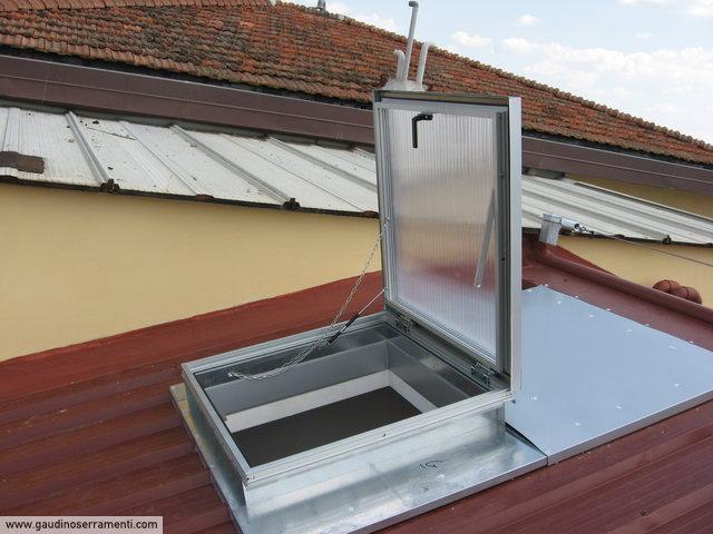 Finestre da tetto speciali coperture speciali gaudino for Lucernari da tetto