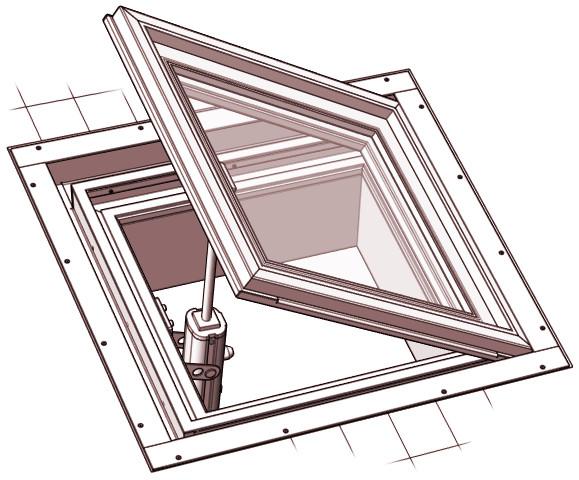 Floor window lucernari calpestabili gaudino for Misure lucernari per tetti