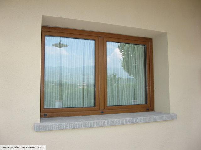 Effetto legno finiture alluminio gaudino - Finestre alluminio effetto legno ...