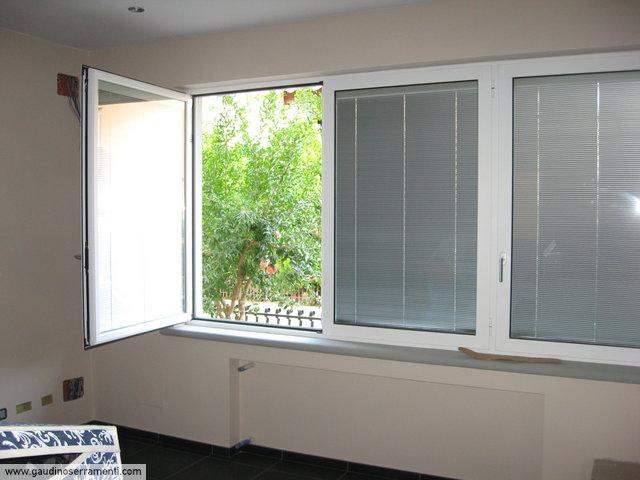 Porte e finestre porte e finestre gaudino - Finestre pvc con tapparelle ...